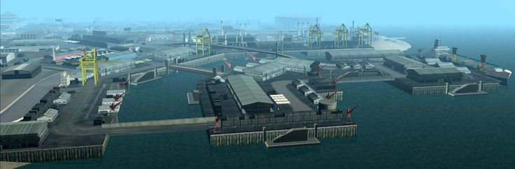 Ocean Docks - GTA Wiki, the Grand Theft Auto Wiki - GTA IV, San Andreas, Vice City, cars, vehicles, cheats and more