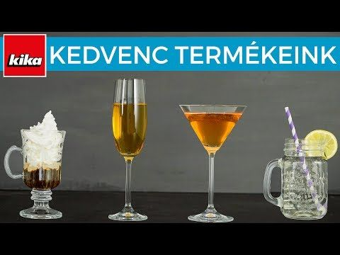 Kedvenc termékeink - Poharak | Kika Magyarország - YouTube