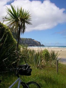 purakaunui bay camping ground, Catlins Coast, géré par le doc