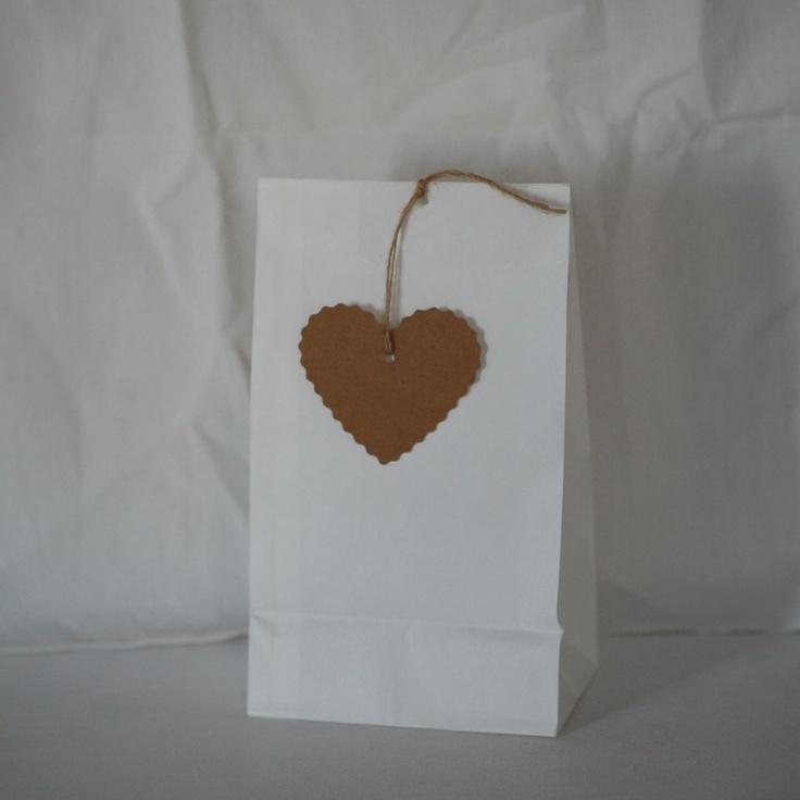 Merci Papier - Verpacken & Schenken mit / Geschenkanhänger Herz