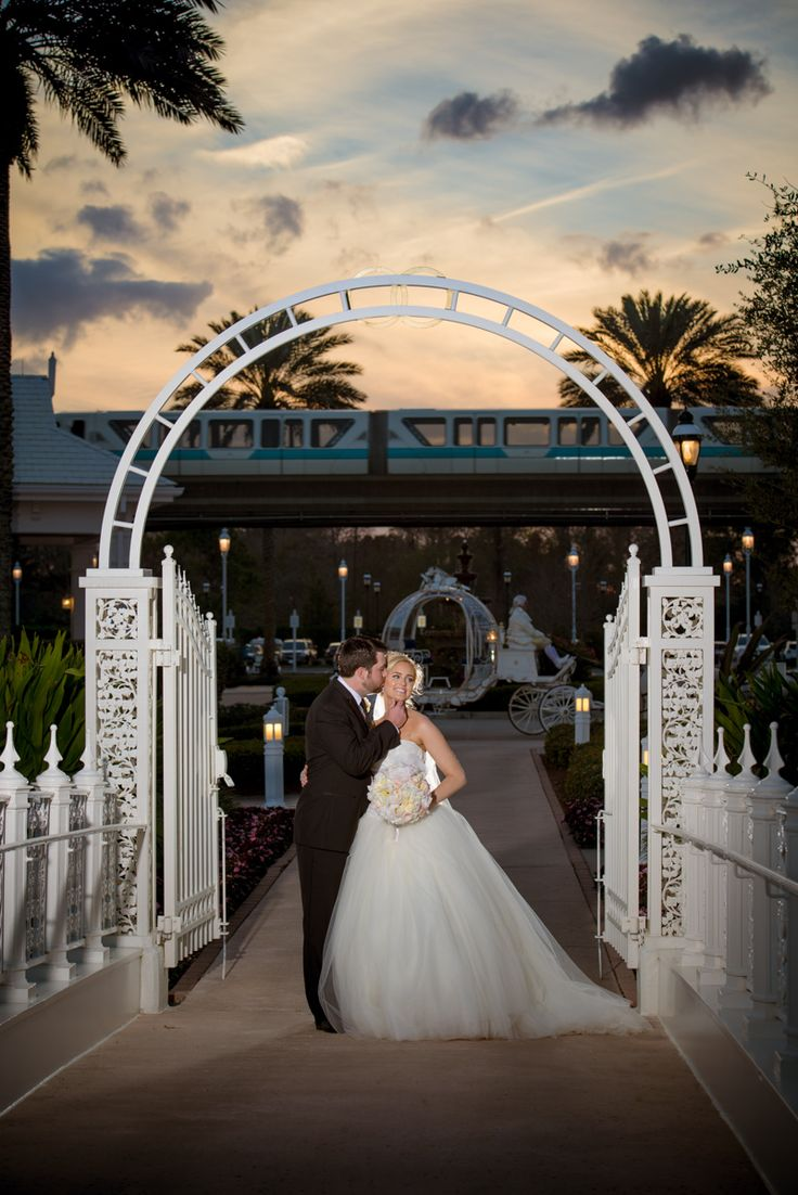 Weddings at disney parks and resorts - On The Shores Of Seven Seas Lagoon Disney S Wedding Pavilion At Walt Disney World Resort In Florida Is An Indoor Ceremony Venue With Views Of Cinderella