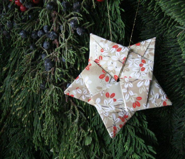 Origami Santa Ornament: 246 Best Origami Christmas Images On Pinterest
