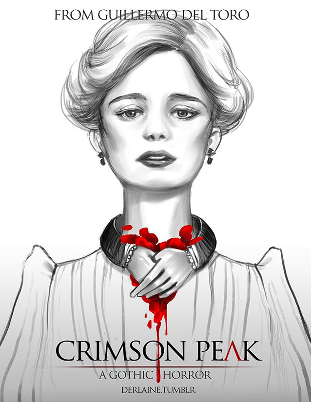 Compilation of the Crimson Peak fanart I did. I will do more if I see more pics of what the other cast look like haha :p