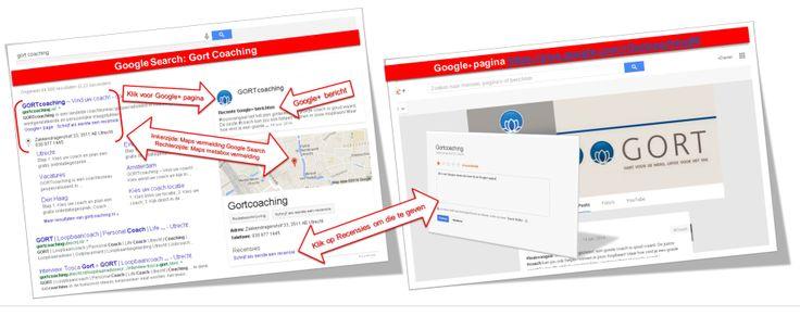 Google Mijn Bedrijf search resultaat uitgelegd