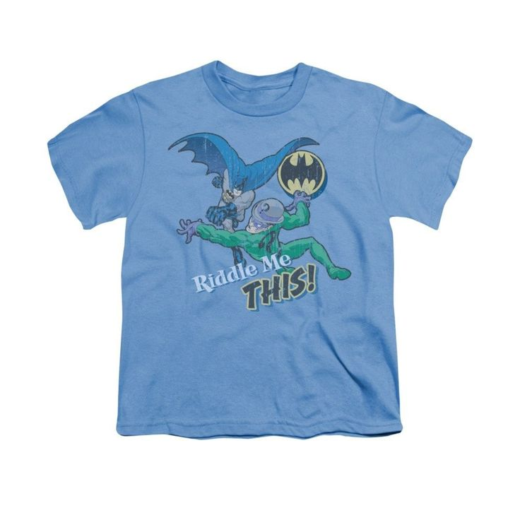 Batman - The Riddler Riddle Me This Youth T-Shirt