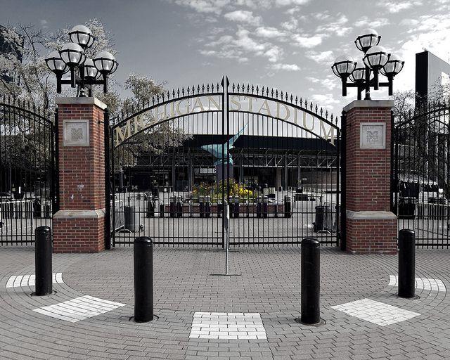 Michigan Stadium - Gate by Vikas Gujadhur - www.vikasgujadhur.com, via Flickr