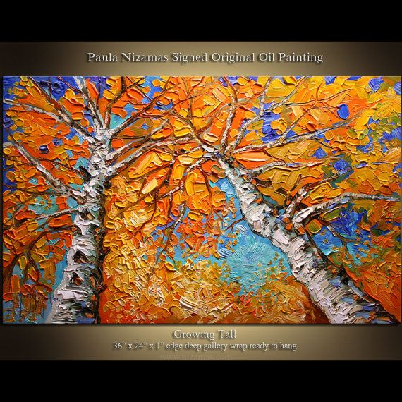 54 best acrylic painting w palette knife images on for Palette knife painting acrylic