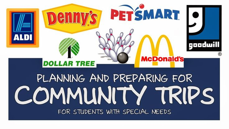 Breezy Special Ed: Planning Community Trips for the Year