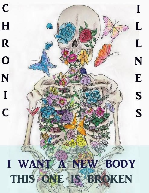 I want a new body... | This is kinda funny because I had a similar convo over a week ago with my doctor