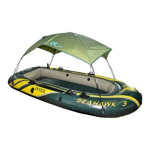 Intex seahawk 68347 68349 68351 series inflatable boat for 4 person fishing boat