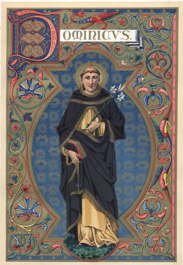 8 August - Feast Day - St Dominic Patron of Astronomers A Yearbook of Saints | DEVOTIO