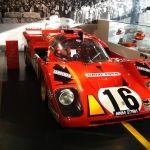 David Pipers Le Mans Ferrari 512 at the Maranello Ferrari Museum.