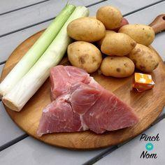 Slow Cooker Syn Free Ham, Leek and Potato Soup | Slimming World