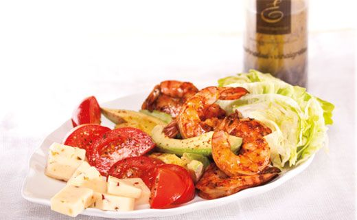 LUNCH: Southern Grilled Shrimp Salad. 370 calories/serving. #EpicureWLW