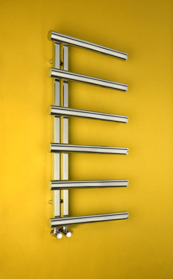 3d models bathroom accessories ceramic tiles venis artis - Bisque Chime Towel Rail Very Polished