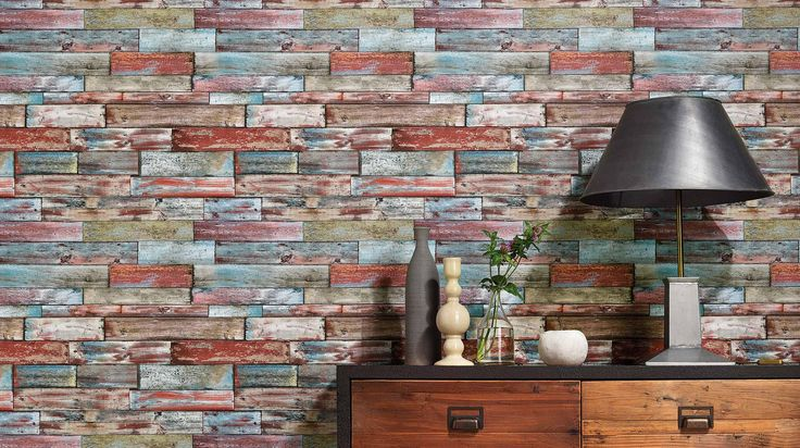Tapeten Holz Und Steinoptik : Steinoptik auf Pinterest Steinoptik, Steintapete und 3d Tapete
