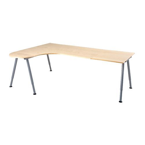 For the office, GALANT Desk combination left - A-leg  - IKEA