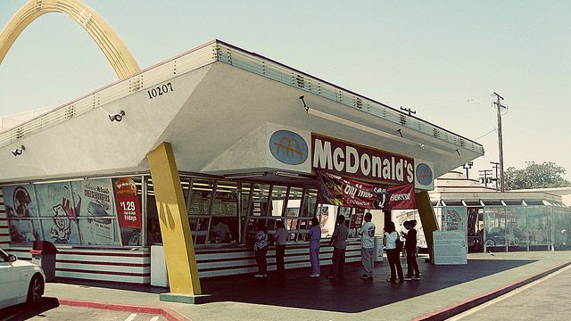 Recreate Original McDonald's Menu Items at Home blast from the past. Joe worked at the first one on Cleveland.
