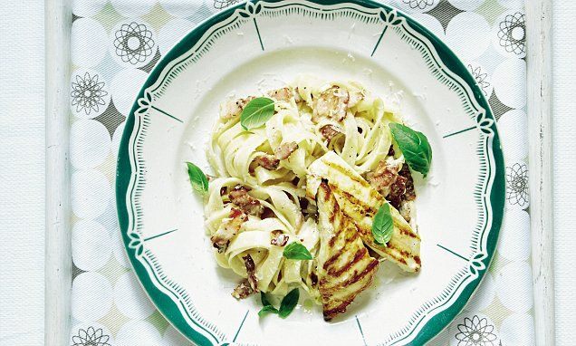 Mary Berry Everyday: Griddled chicken carbonara