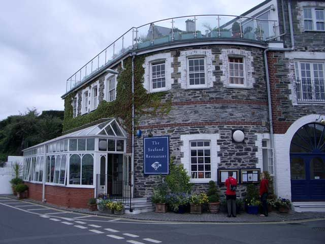 Rick Stein's, The Seafood Restaurant in Padstow, Cornwall