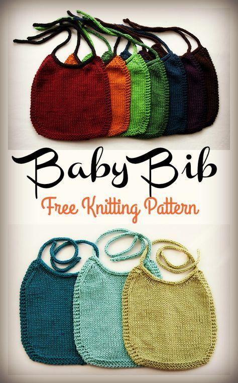 Baby Bib Free Pattern Simple
