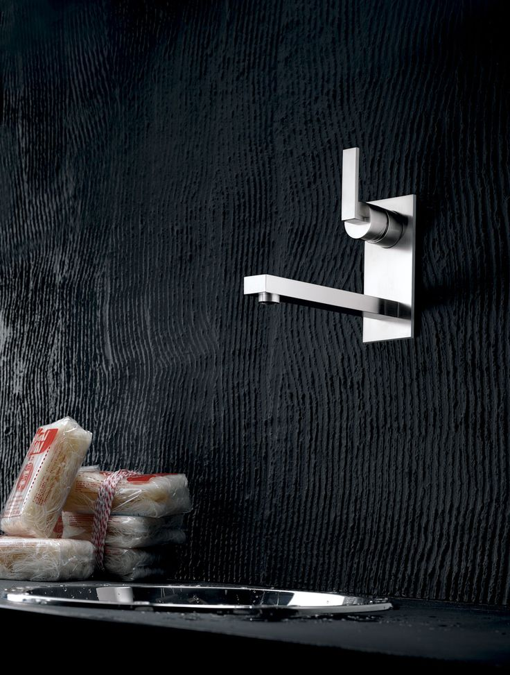 Wall mount kitchen faucet by Dornbracht / Lot Collection