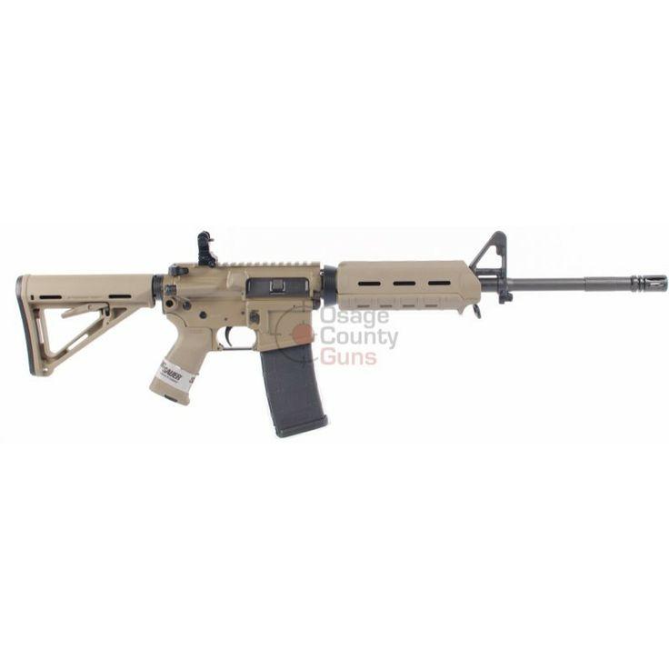 """Sig M400 SIGM400, 16"""" bbl, Enhanced FDE Carbine, MOE Grip,"""