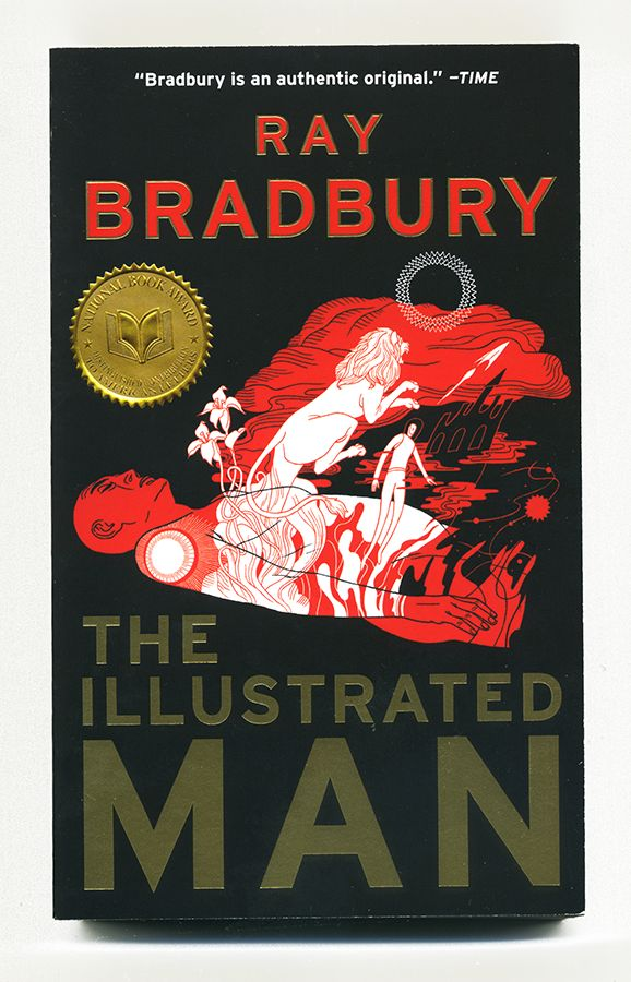 Illustrated Man Book Cover ~ Best images about layout books novels etc on