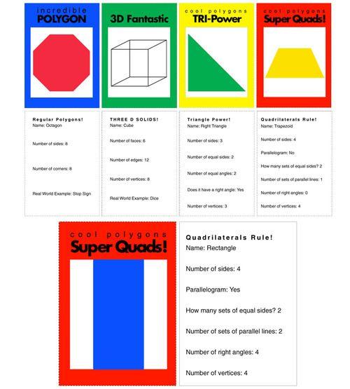 Muchas páginas de geometría: Math Geometry, Geometry Ideas, Math Ideas, Shape Trading Cards Jpg, Mate Geometría, Math School, Geometry Shapes