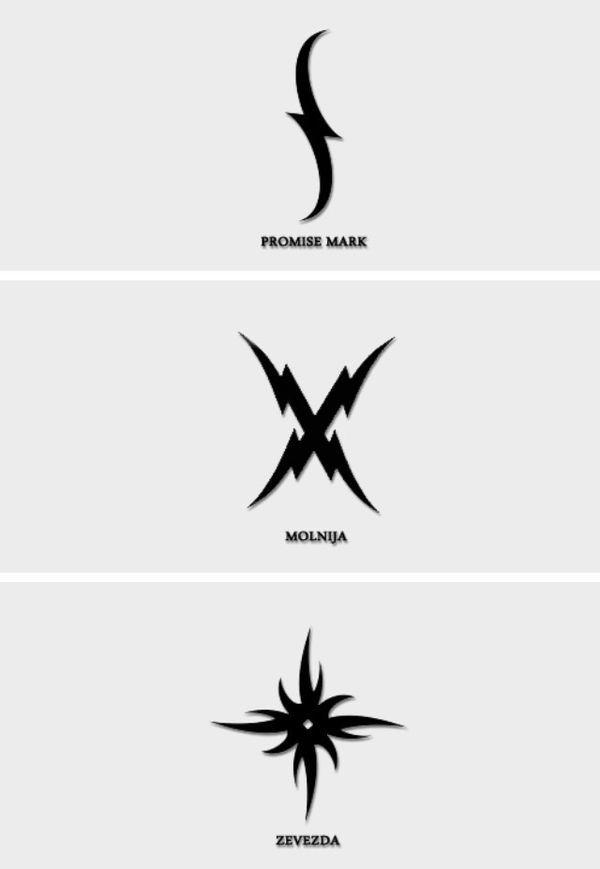 The vampire academy tatoo