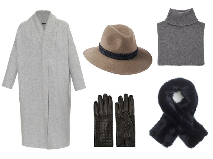 Gorgeous cosy essentials featuring our Mink Willow Fedora | Grey Wool Braid Band #penmayneoflondon #fedora #hats #style