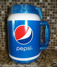 Pepsi 64 Oz Insulated Thermos W Lid Amp Straw New Mug Cooler
