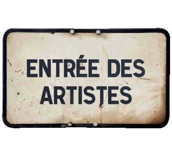 Artists Entrance: Bienvenue à galerie de moi. Amusez-vous bien!