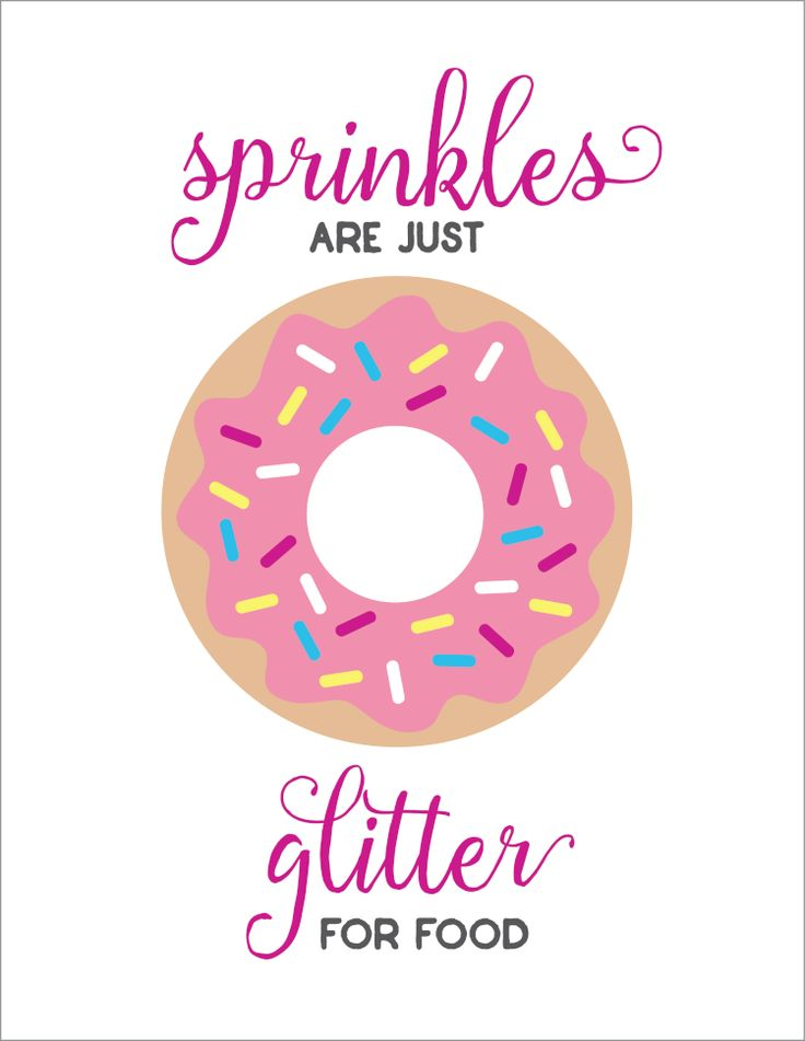 Influential image in donut printable