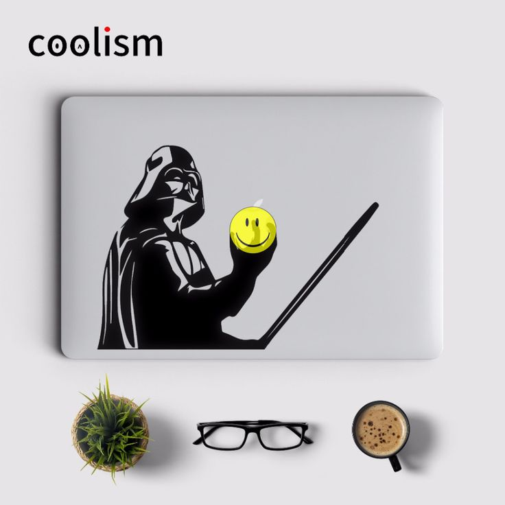 Star Wars Darth Vader Laptop Sticker for MacBook Decal Air/Pro/Retina 11 12 13 15 inch Computer Mac skin Pegatina para notebook