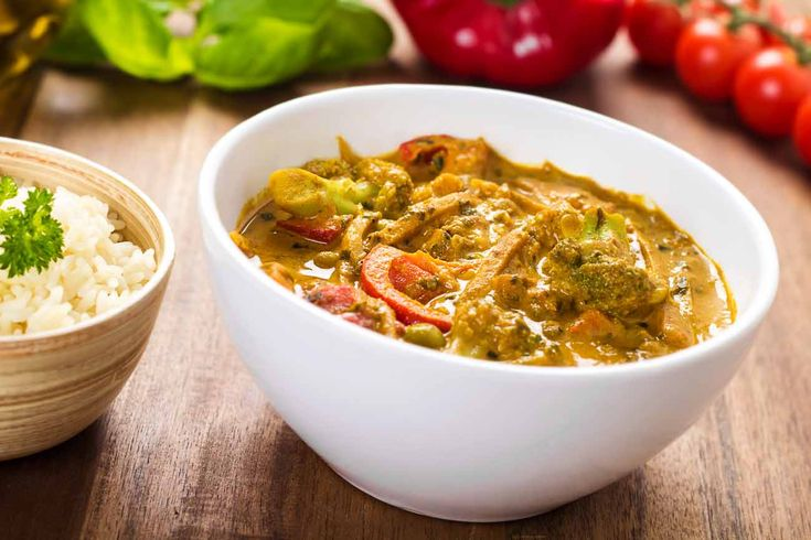 Broccoli & Vegetable Coconut Curry Recipe