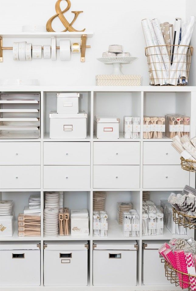 If you're short on room, optimizing your space with tall shelves is the way to…