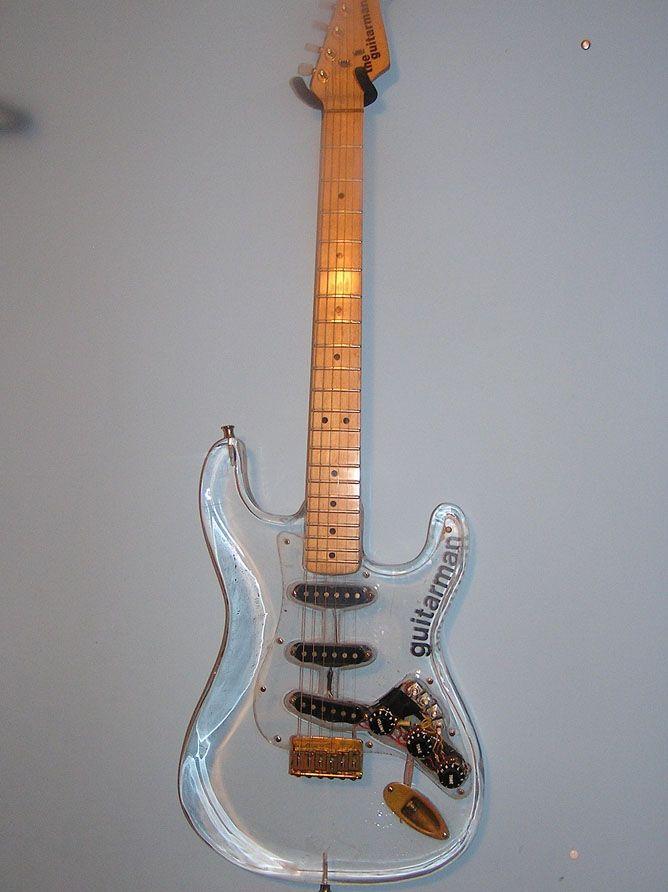 354 best guitar acrylic lucite plexiglass images on pinterest guitars electric guitars. Black Bedroom Furniture Sets. Home Design Ideas