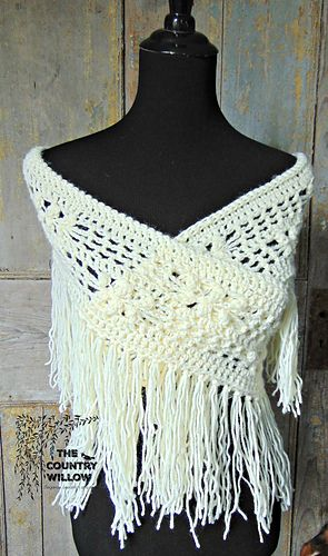 Bohemian Winter Infinity Scarf pattern by Country Willow Designs