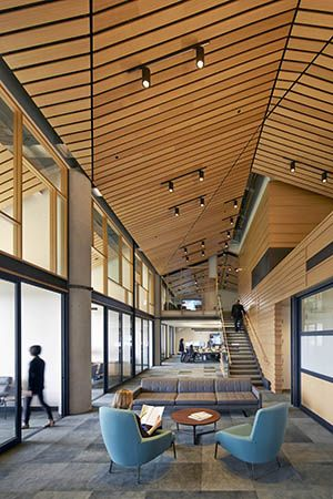 Open office - ValueAct Capital - Interior Architecture - Gould Evans