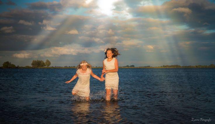 Fotoshoot twee zussen @ Reeuwijk