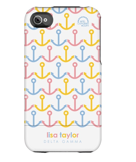 Bronze, pink, and blue... Hey DG sis! Check out Erin Condren's new line of iPhone cases, personalized to show off our letters!