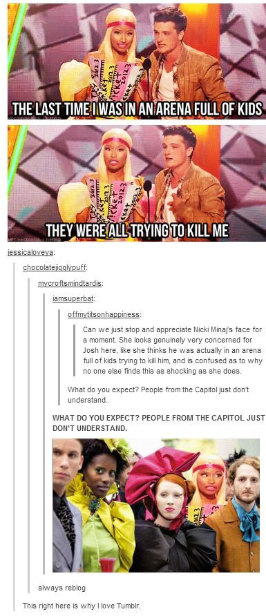 Niki minaj is from the Capitol pass it on