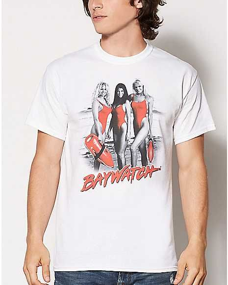 adc71b289 Beach Girls Baywatch T Shirt | T Shirts | Mens tops, T shirt, Shirts