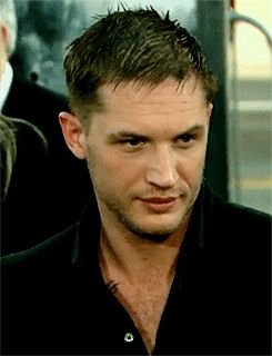 Tom Hardy the Inception premiere in Los Angeles.