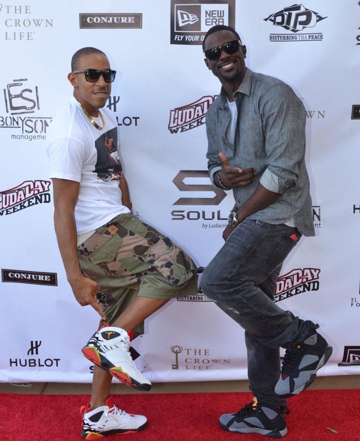 Ludacris Wearing Air Jordan VII 7 Bin23 Premio Lance Gross
