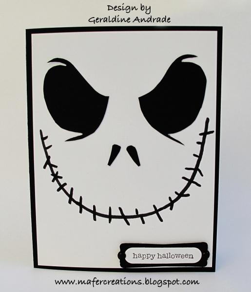 Jack Skellington Happy Birthday Card