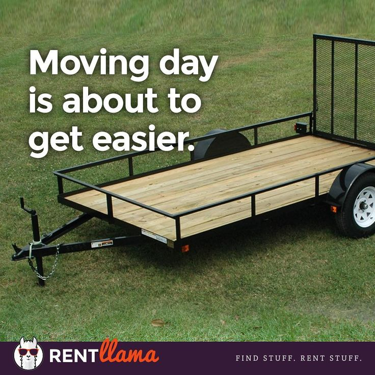 Moving day is easier when you can rent a trailer on demand. Rent Llama launches later this fall. #startup #startupgrind #startuplife #rent #RVA #rentals #marketplace #moving #trailer