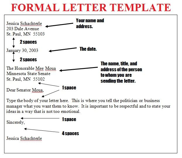 17 Best ideas about Formal Business Letter
