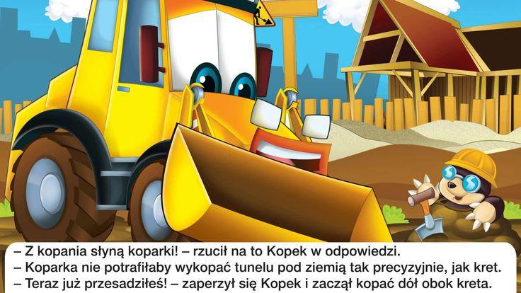 Bajka dla dzieci - Koparka - Baśń